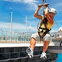 Harmony of the Seas - lanovka Zipline