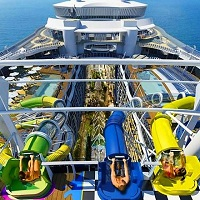Harmony of the Seas - tobogany