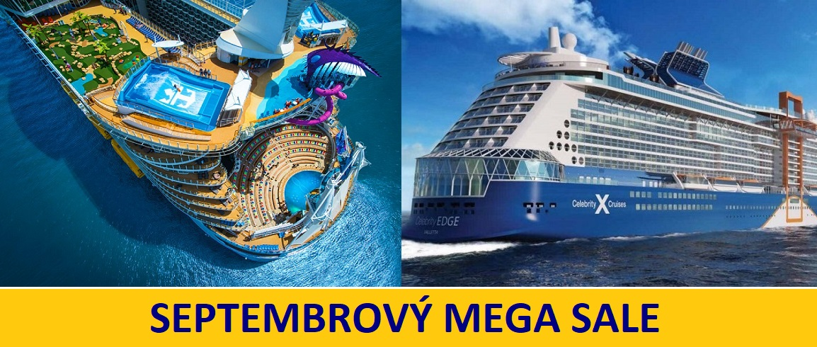 Royal Caribbean & Celebrity Cruises - super výpredaj